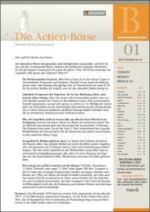Die Actien-Börse