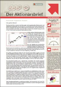 Der Aktionärsbrief